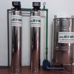 xử lý nước giếng