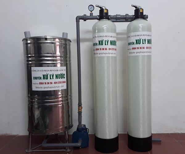 Cách xử lý nước giếng khoan