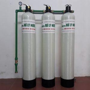 lọc nước sinh hoạt xử lý canxi đá vôi