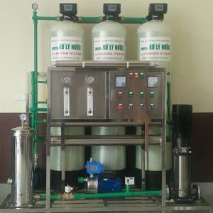 Dây chuyền lọc nước công suất 900l/h