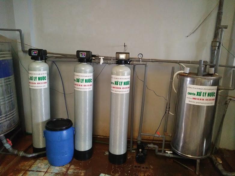 Cải tạo hệ thống xử lý nước giếng khoan